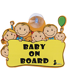 Blossom Child Proofing Baby on Board Sign