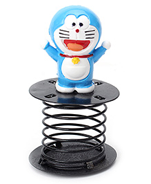 Doraemon Figurine Fun Spring - Black And Blue