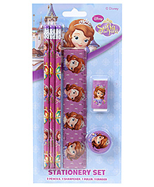 Sofia the First Stationery Set - 6 Pieces