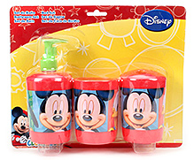 Disney Mickey Bathroom Set - 3 Piece