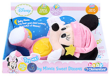 Disney Baby Minnie Night Plush Musical Toy - Pink - 0 Months +