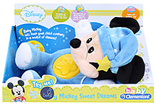 Disney Baby Minnie Night Plush Musical Toy - Blue - 0 Months +