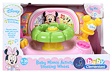 Disney Minnie Activity Wheel Musical Toy - English And Spanish