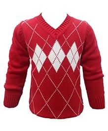 Wonderland Sweater - Red