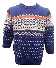 Wonderland Full Sleeves Sweater - Pullover