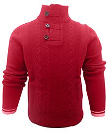 Wonderland Full Sleeves Sweater - High Neck