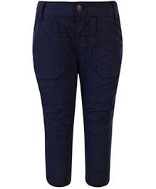 Babyhug Full Length Trouser - Navy Blue
