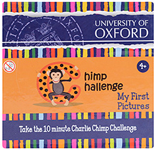 Oxford Chimp Challenge My First Pictures Card Game