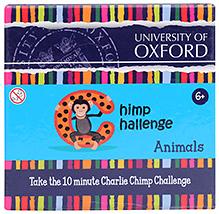 Oxford Chimp Challenge Animals Card Game