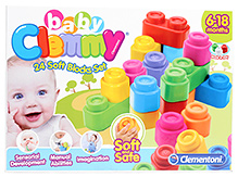 Baby Clemmy Soft Blocks - 24 Pieces