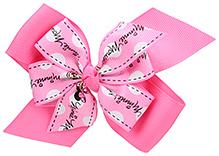 Stol'n Hair Clip Pink - Minnie Mouse Print