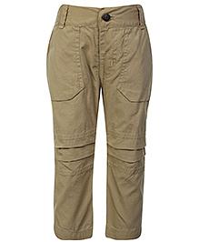 Babyhug Full Length Trouser - Solid Colour