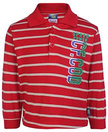 Cucu Fun Full Sleeves T-Shirt - 98 Varsity Print
