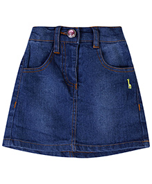Babyhug Denim Skirt - Light Blue