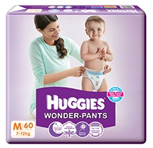 Huggies Wonder Pants Medium - 60 Pieces