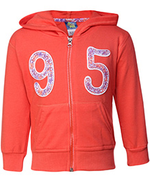 Cucu Fun Full Sleeves Hooded Jacket - 95 Patch
