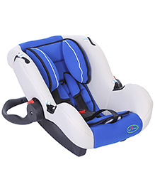 1st Step Car Seat Cum Carrycot With Rocking Function - Blue
