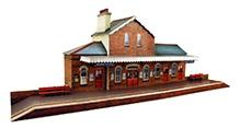 The CityBuilder Railway Station Model Making Kit