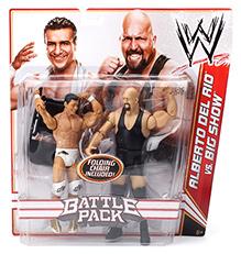 WWE Alberto Del Rio Versus Big Show Battle Figures - Height 17 Cm Each