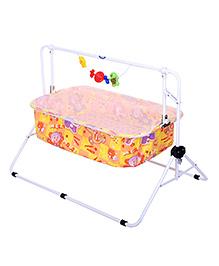 New Natraj Comfy Cradle Teddy Print - Yellow