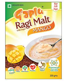 Gaplu Ragi Malt Mango Flavour - 200 gm