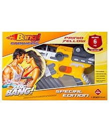 Bang Prinio Yellow Toy Gun