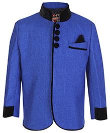 Little Bull Full Sleeves Jacket - Blue