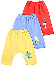 Zero Diaper Leggings - Set Of 3