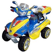 Sun Baby Dreams Car Cum Bike - Blue And Yellow