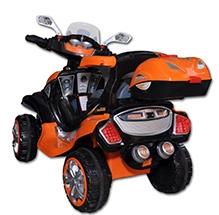 Sun Baby Dreams Car Cum Bike - Orange And Black