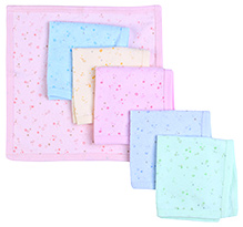 Zero Face Napkin Star Print - Set of 6