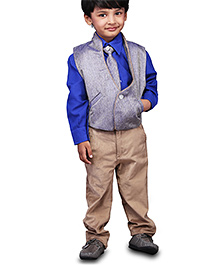 Babyhug Four Piece Party Suit