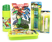 Ben 10 School Kit - Pack Of 5