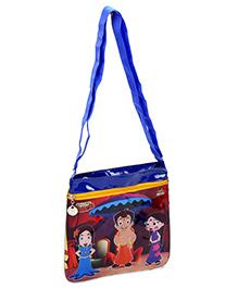Chhota Bheem Square Shape Cross Sling Bag - Yellow