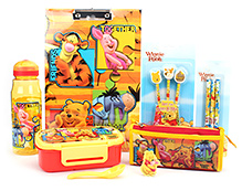 Disney Winnie The Pooh Theme School Kit - Pack Of 7