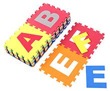 Lovely Alphabets Eva Foam Mat - Multi Colour