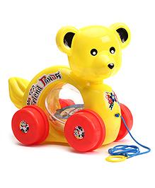 Lovely Pull Along My Friend Panda - Yellow