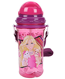 Barbie Sipper Water Bottle - Pink And Purple