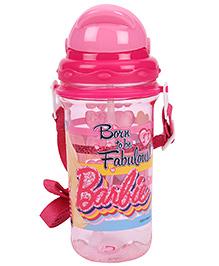 Barbie Sipper Water Bottle Large - Pink