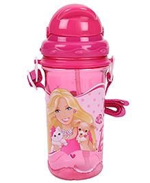 Barbie Sipper Water Bottle Large - Dark Pink