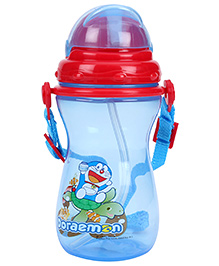 Doraemon Sipper Water Bottle - Blue