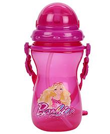 Barbie Sipper Water Bottle - Dark Pink