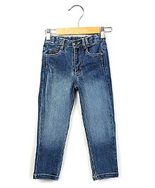 Beebay Logo Denim Trouser Full Length - Blue