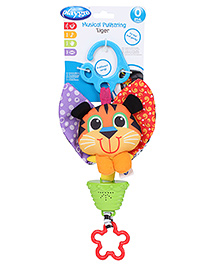 Playgro Musical Pull String - Tiger