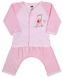 Simply Full Sleeves Night Suit - Mouse Print