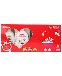 Pigeon Baby Gift Set - Set of 6