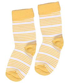 Mustang Socks - Stripe Print