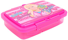 Barbie Lunch Box Printed - Pink