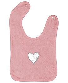 Taftan European Brand Bib Heart Pink