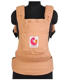 Nahshonbaby 3 Way Baby Carrier Light Beige - Upto 15.8 Kg